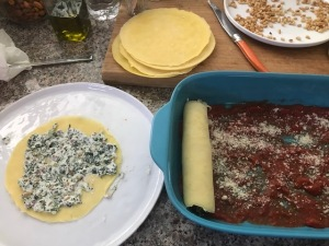 Manicotti - Stuff and Roll 'Em Up